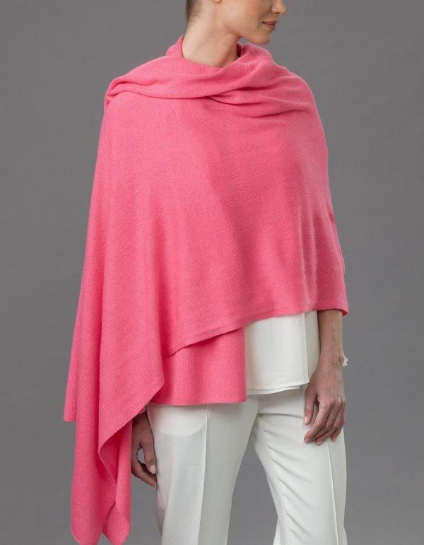 Lemonwood Cashmere - Tulip Travel Wraps Bubblegum Pink