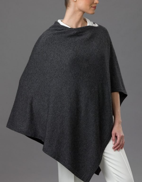 Lemonwood Poncho Charcoal