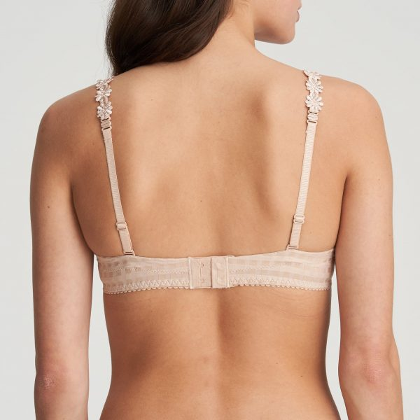 Marie Jo Avero with Daisy Strap Bra Caffee Latte Back