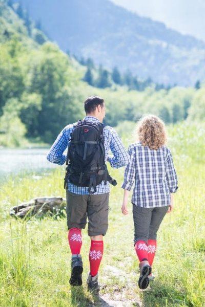 Mountain Sock Hiking Image